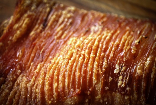 pork crackling