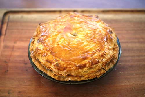 lamb pie for a national treasure | Julie Goodwin