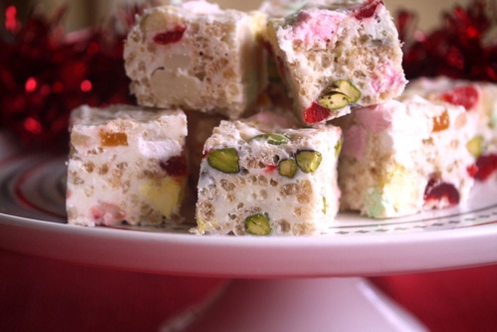 Edible White Christmas