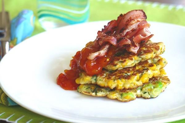 recipe - corn fritters