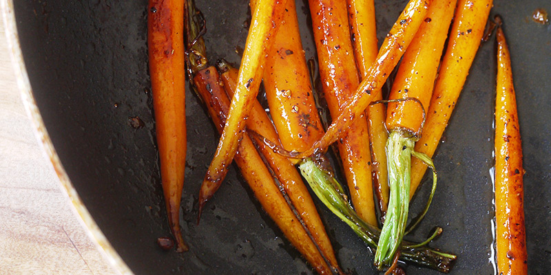 honeyed dutch carrots