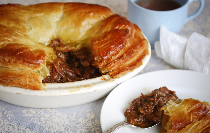 Lamb Shank Pie | Julie Goodwin
